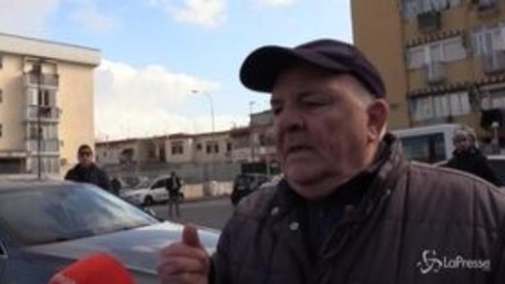 """Salvini a Bagnoli, rabbia di un residente: """"Qui spaccio e camorra, ma mai così tanta polizia. Mi vergogno di essere italiano"""""""