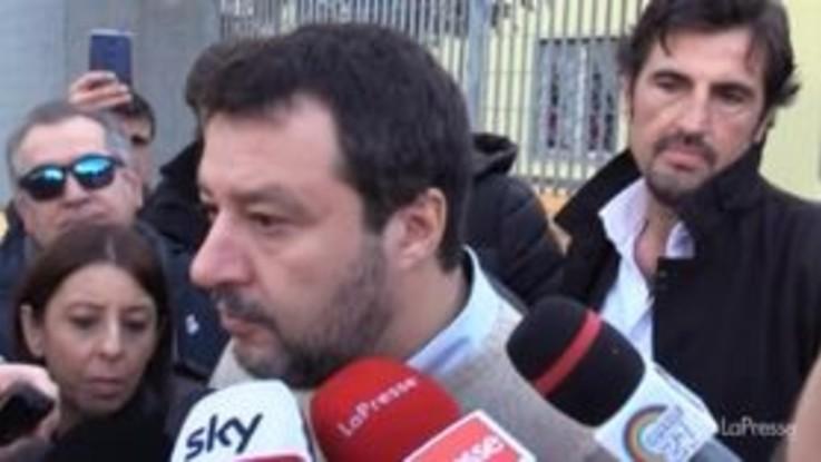 """Governo, Salvini: """"Questo governo non ha partorito nulla se non i miei processi"""""""
