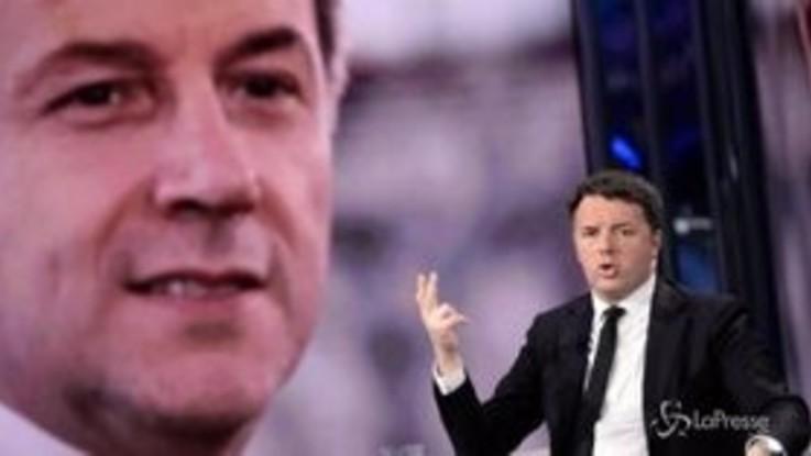 """Su prescrizione è sfida continua, Renzi: """"Accordo o sfiducia a Bonafede"""""""