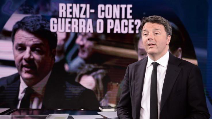 Governo, Renzi sfida Conte con Sindaco d'Italia. Lega fredda, no del Pd