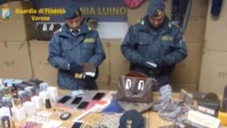Luino, contraffazione sui social: 92 denunciati
