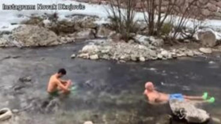 "Novak Dkojovic, bagno gelato in un torrente dell'Alto Adige: ""Sfido chiunque"""