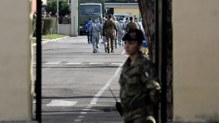 Coronavirus: finita la quarantena per gli italiani alla Cecchignola