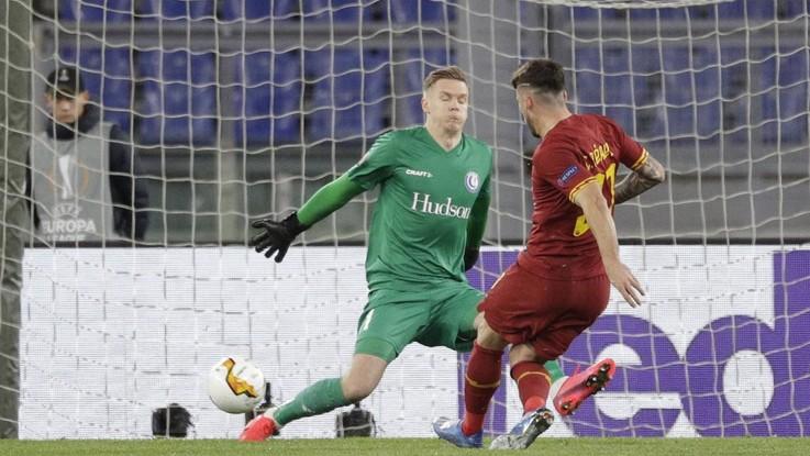 Europa League, Roma a fatica sul Gent: basta un lampo di Perez