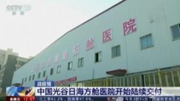 Coronavirus, terminati i lavori del secondo ospedale a Wuhan