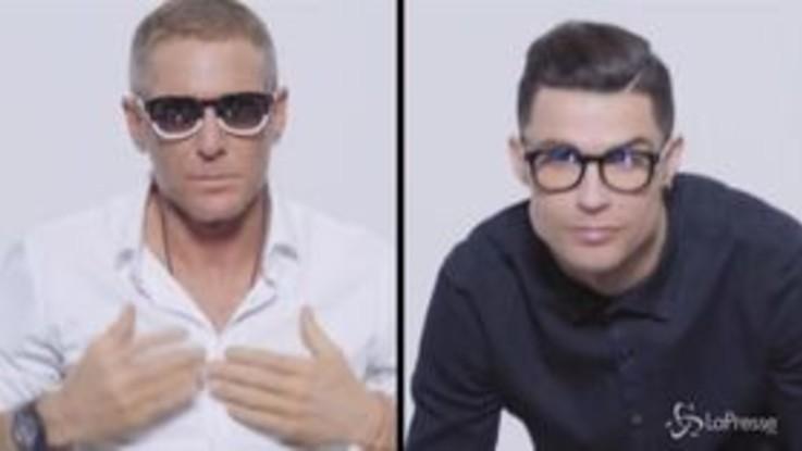 Lapo e Cristiano Ronaldo insieme: nasce la linea di occhiali di Cr7