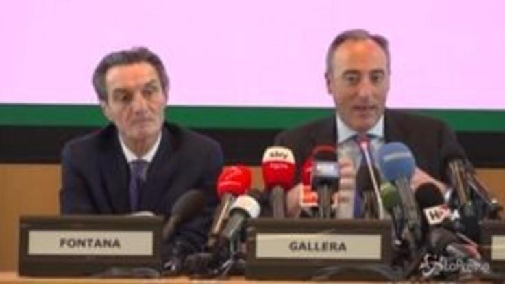 """Coronavirus nel Lodigiano, l'assessore lombardo Gallera: """"Restate a casa"""""""