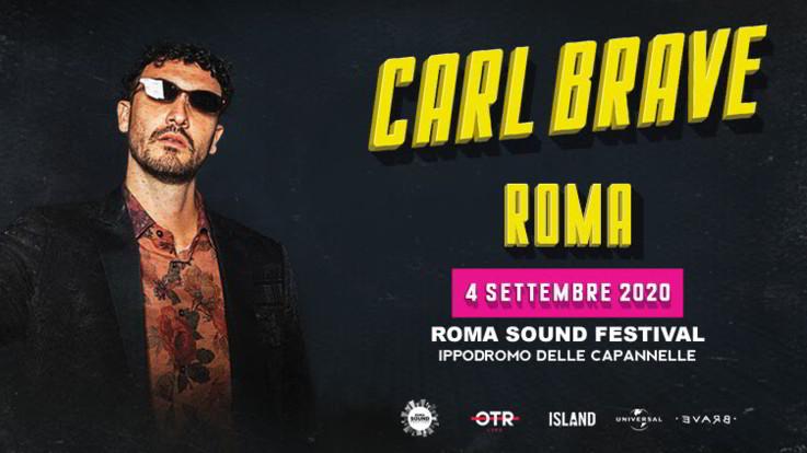Roma Sound Festival, è Carl Brave il primo headliner