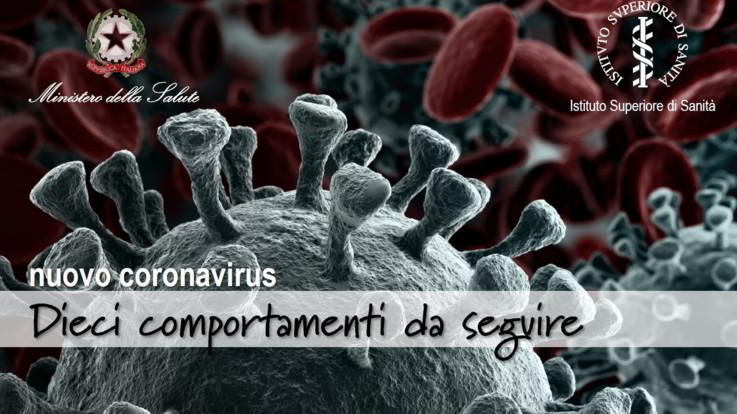 Coronavirus, il decalogo del ministero della Salute per evitare il contagio