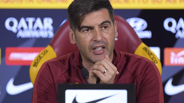 """Serie A: Roma-Lecce, Fonseca: """"Loro in forma. Champions? Ci credo"""""""