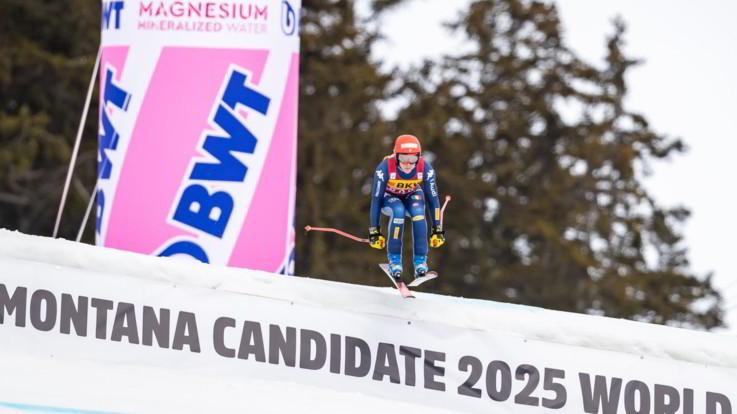 Sci alpino, Brignone vince la combinata di Crans Montana e vola in testa alla Coppa del mondo