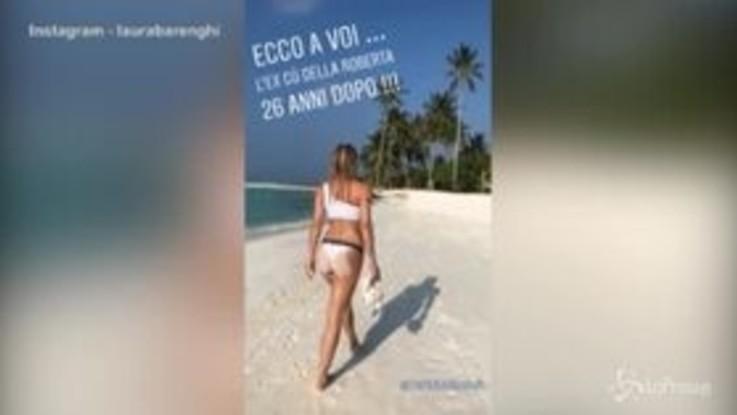 Michelle Hunziker versione sexy Bond-Girl alle Maldive