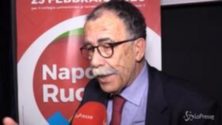 Napoli, Ruotolo eletto senatore