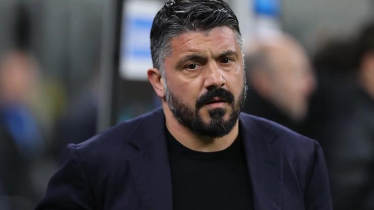 Champions: Napoli-Barca, Gattuso: Affrontiamo una grandissima squadra. Grazie Ancelotti