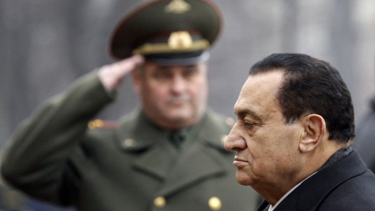 E' morto l'ex presidente egiziano Hosni Mubarak