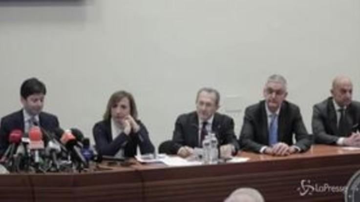 """Vertice ministri Ue su coronavirus, Speranza: """"Confini aperti, condivisione delle informazioni"""""""
