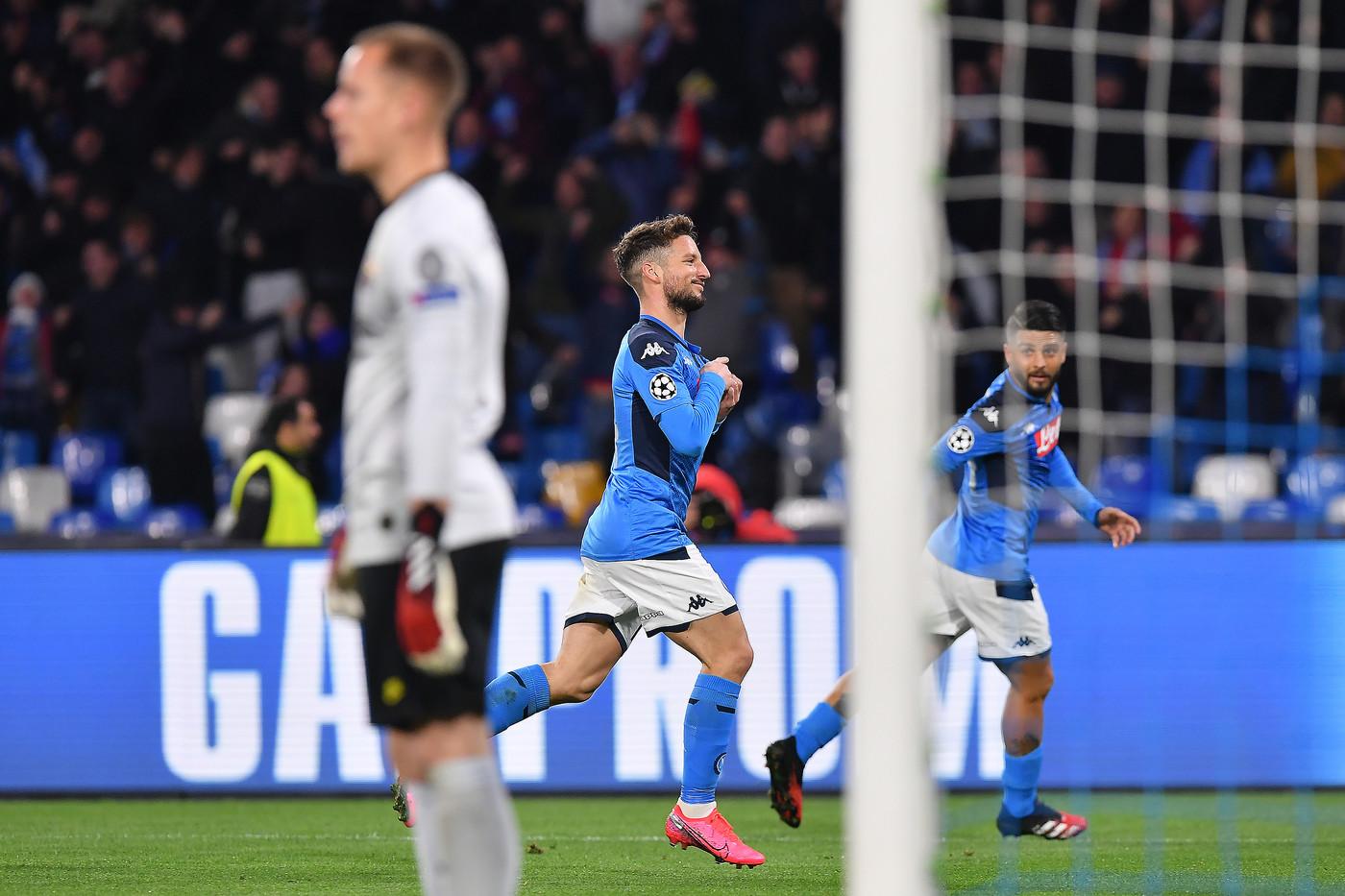Champions League, Griezmann replica a Mertens: il Napoli fermato dal Barça