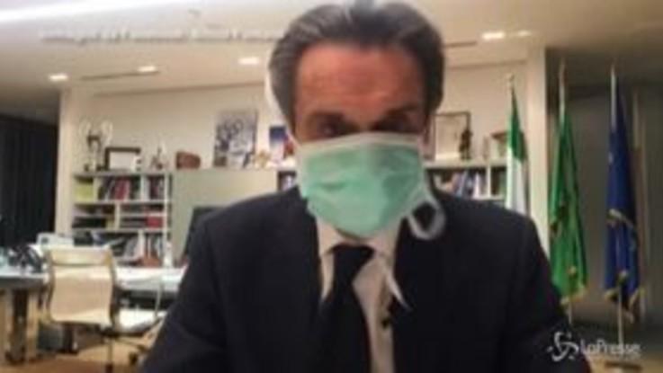 Coronavirus, il governatore lombardo Fontana si mette in autoquarantena