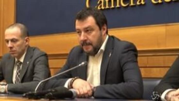 """Coronavirus, Salvini: """"Governo non è in grado di affrontare l'emergenza"""""""