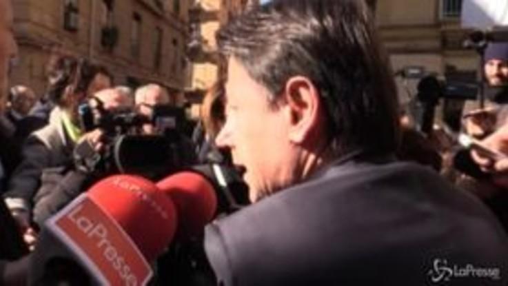 """Governo, Conte: """"Salvini? Non è il contesto per far polemiche"""""""