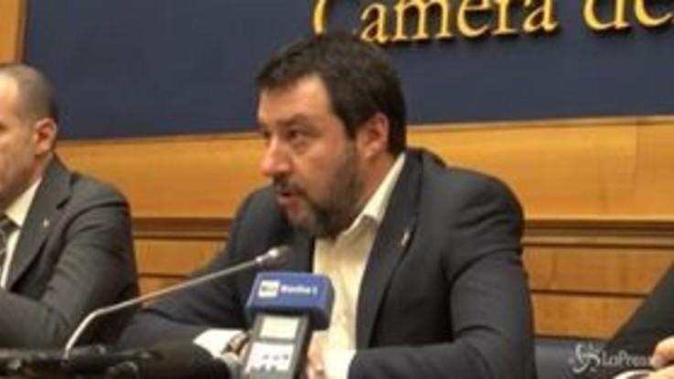 "Coronavirus, Salvini: ""Conte vada a casa"""
