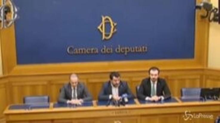 """Governo di unità, Salvini: """"La Lega c'è per accompagnare il Paese fuori dal pantano"""""""