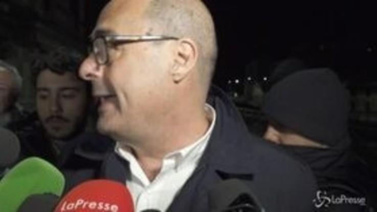 """Zingaretti: """"No a furbi che per salvare economia fanno cadere governo"""""""