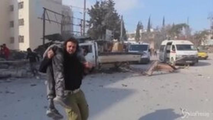 Siria: raid aereo a Idlib, morti 33 soldati turchi