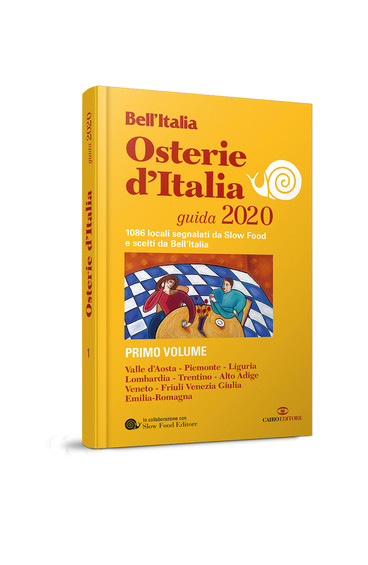 """""""Osterie d'Italia 2020"""" di Slow Food in allegato a Bell'Italia di marzo"""