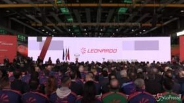 Leonardo di Pomigliano inaugura Aerotech Academy: 'Modello per l'Italia di sviluppo e occupazione'