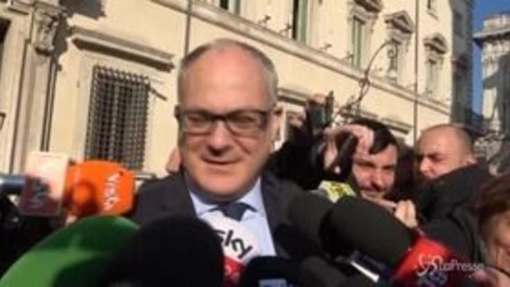 Camera, il ministro Gualtieri eletto nel seggio di Gentiloni
