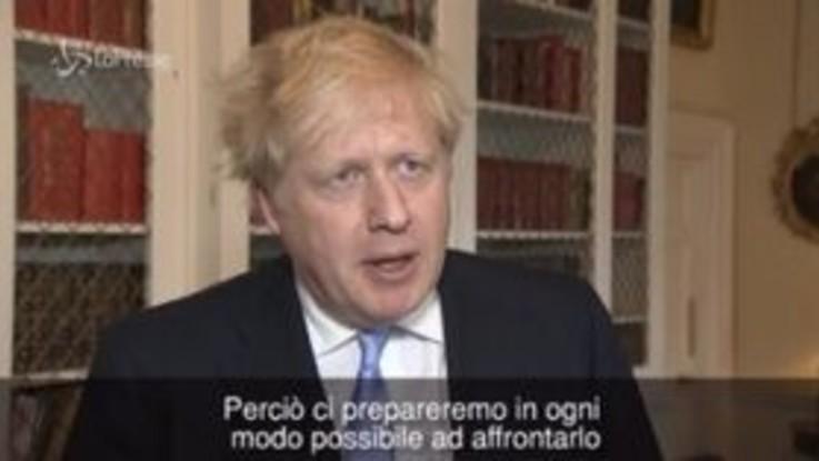 """Coronavirus, Boris Johnson: """"Il virus si diffonderà anche in Gran Bretagna, ma siamo pronti"""""""