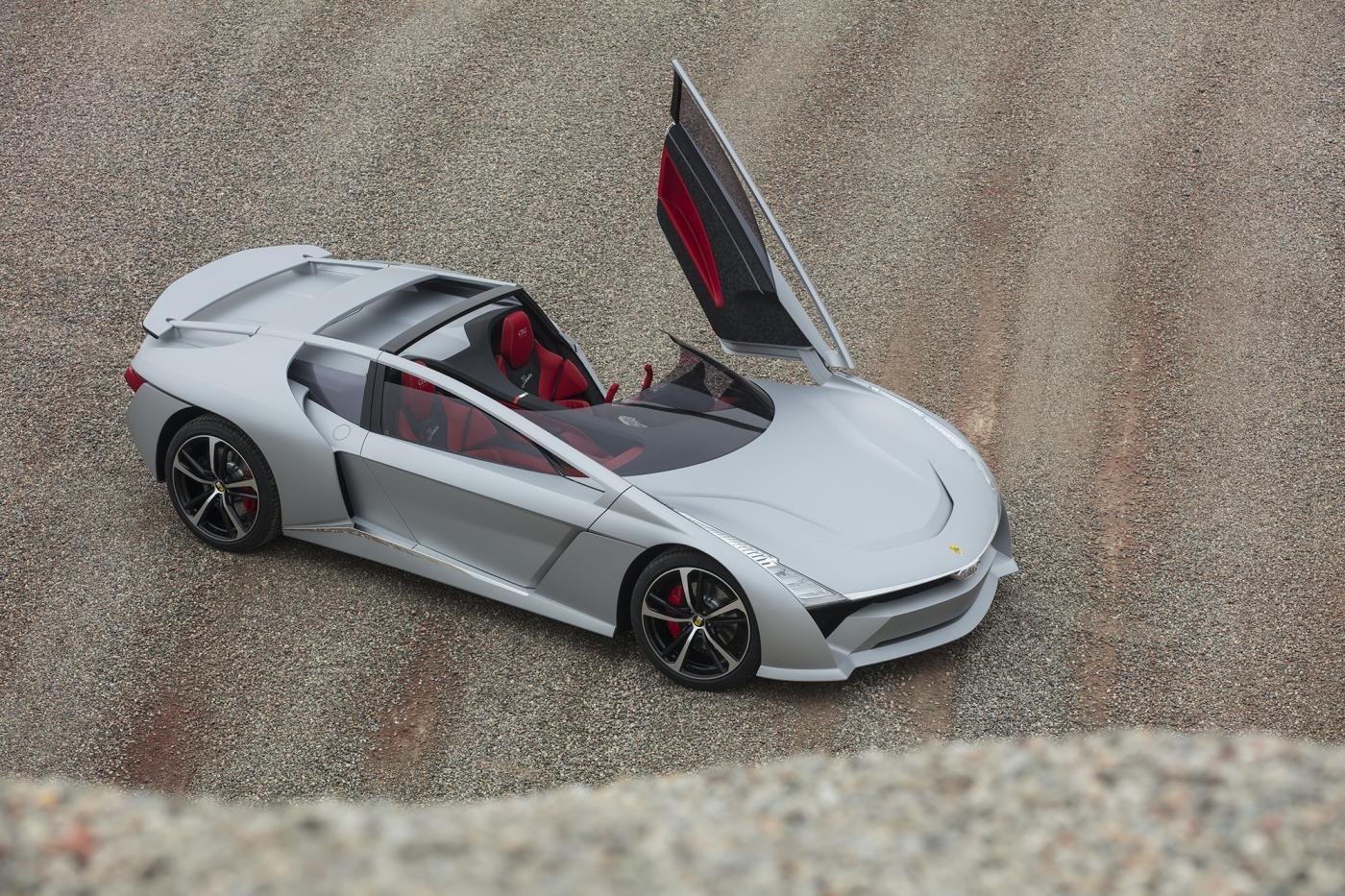 Auto, Giugiaro progetta il futuro: presentate 3 super car elettriche per stupire
