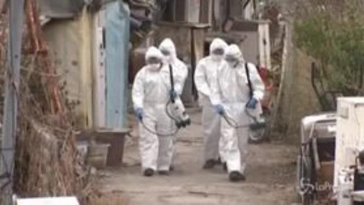 Corea del Sud, militari in azione per disinfettare Seul