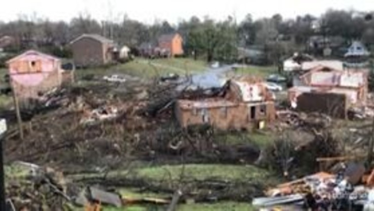 Usa, tornado in Tennessee: decine di morti