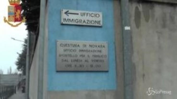 Novara: pratiche irregolari per permessi di soggiorno, oltre 30 denunciati