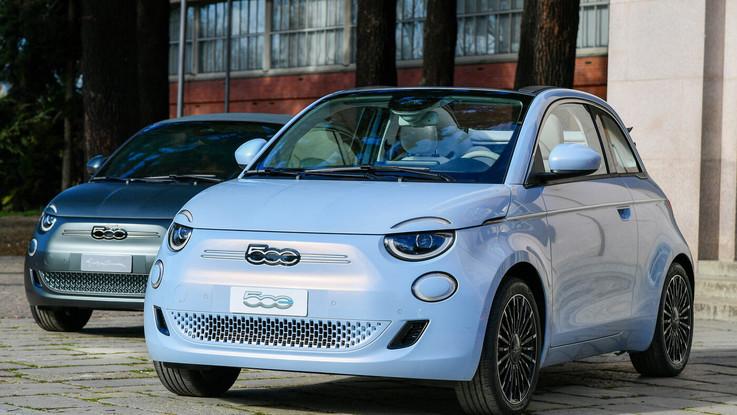 Fca, la svolta 100% elettrica di Fiat: debutta la nuova 500