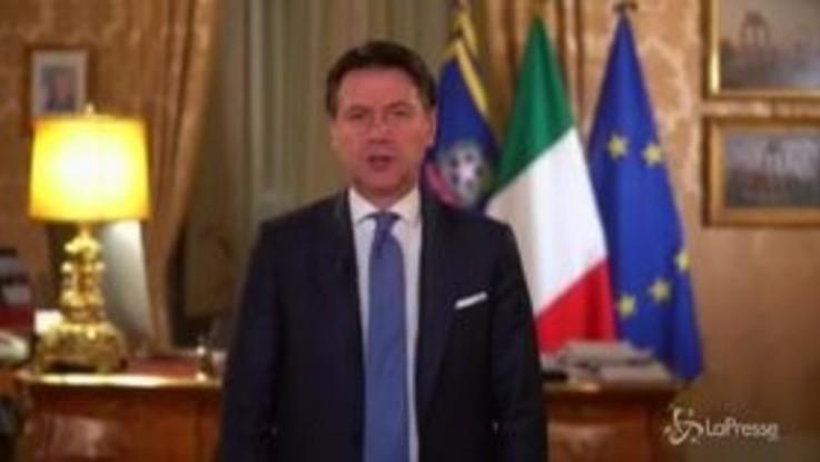 """Coronavirus, il videomessaggio di Conte agli italiani: """"Serve uno sforzo in più"""""""