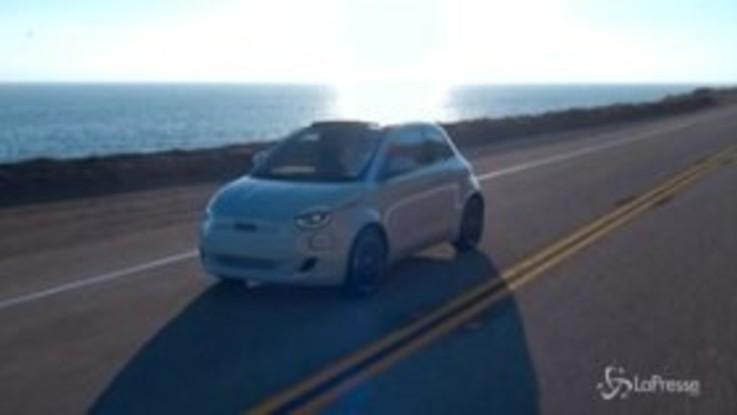 Fca, Fiat svela la 500 elettrica