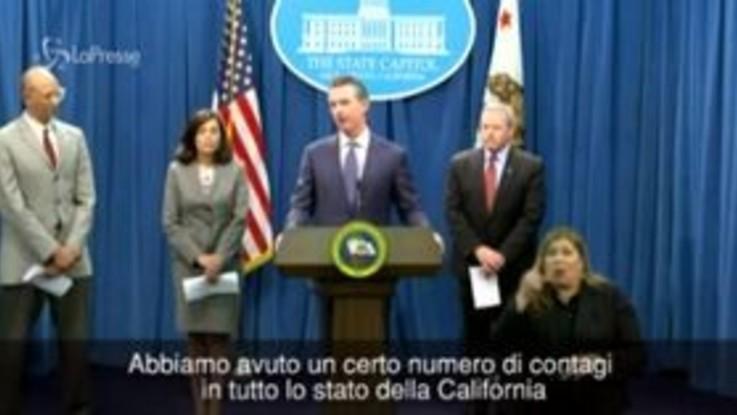 Coronavirus, la California dichiara lo stato d'emergenza