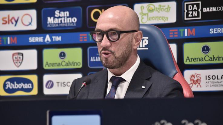 Serie A, Zenga riparte da Cagliari: Qui per riportare entusiasmo e follia