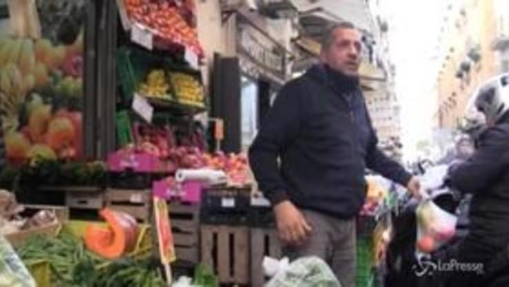 """Coronavirus a Napoli, i commercianti: """"Se non ci aiutano chiuderemo tutti"""""""