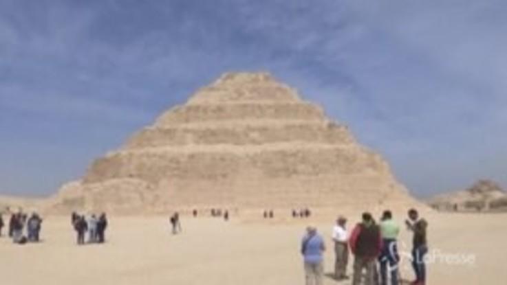 Egitto: riapre dopo 13 anni la piramide di Djoser