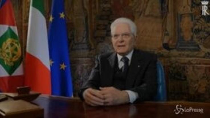 """Coronavirus, parla il presidente: """"Dobbiamo e possiamo avere fiducia nell'Italia"""""""