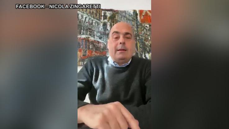 "Nicola Zingaretti: ""Ho preso il coronavirus"""