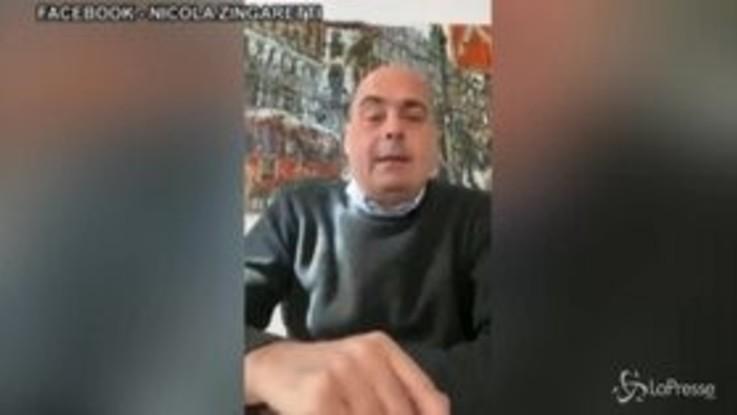 """Nicola Zingaretti: """"Sono positivo al coronavirus"""""""