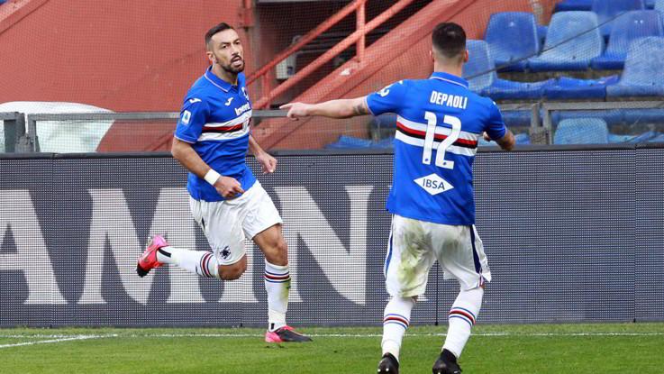 Serie A, la Samp batte 2-1 il Verona in rimonta