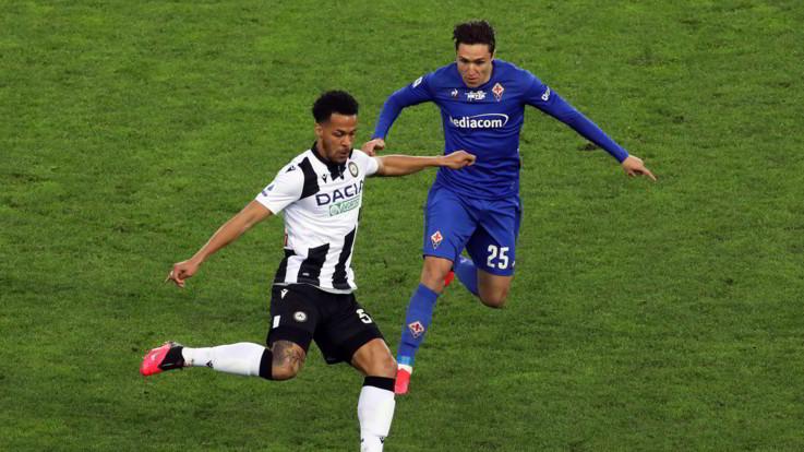 Serie A, Udinese e Fiorentina non si fanno male
