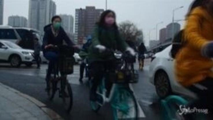 Coronavirus: casi in calo, in Cina si torna lentamente al lavoro