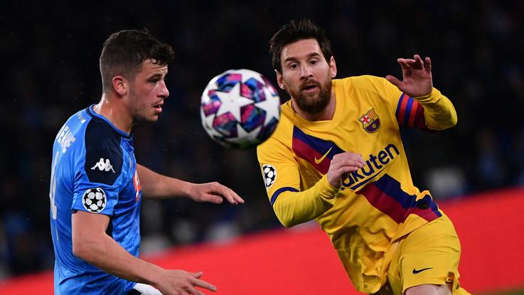 Champions, dalla Spagna: anche Barcellona-Napoli verso le porte chiuse